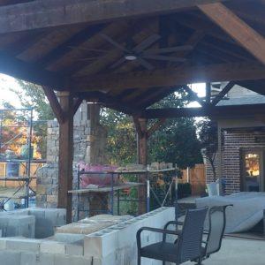 Outdoor Fireplace Builders Tulsa Oklahoma