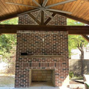 Outdoor Fireplace Builders Tulsa