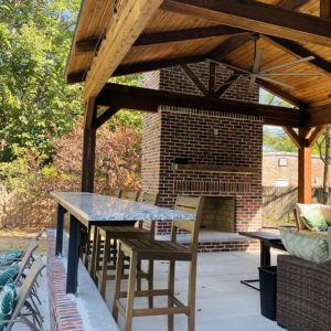 Outdoor Shingled Structures Tulsa