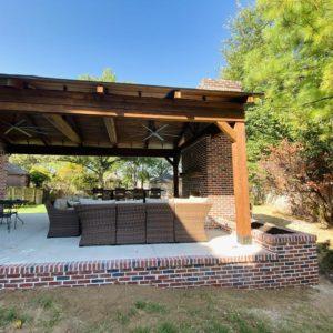 Pavilion Installation Tulsa